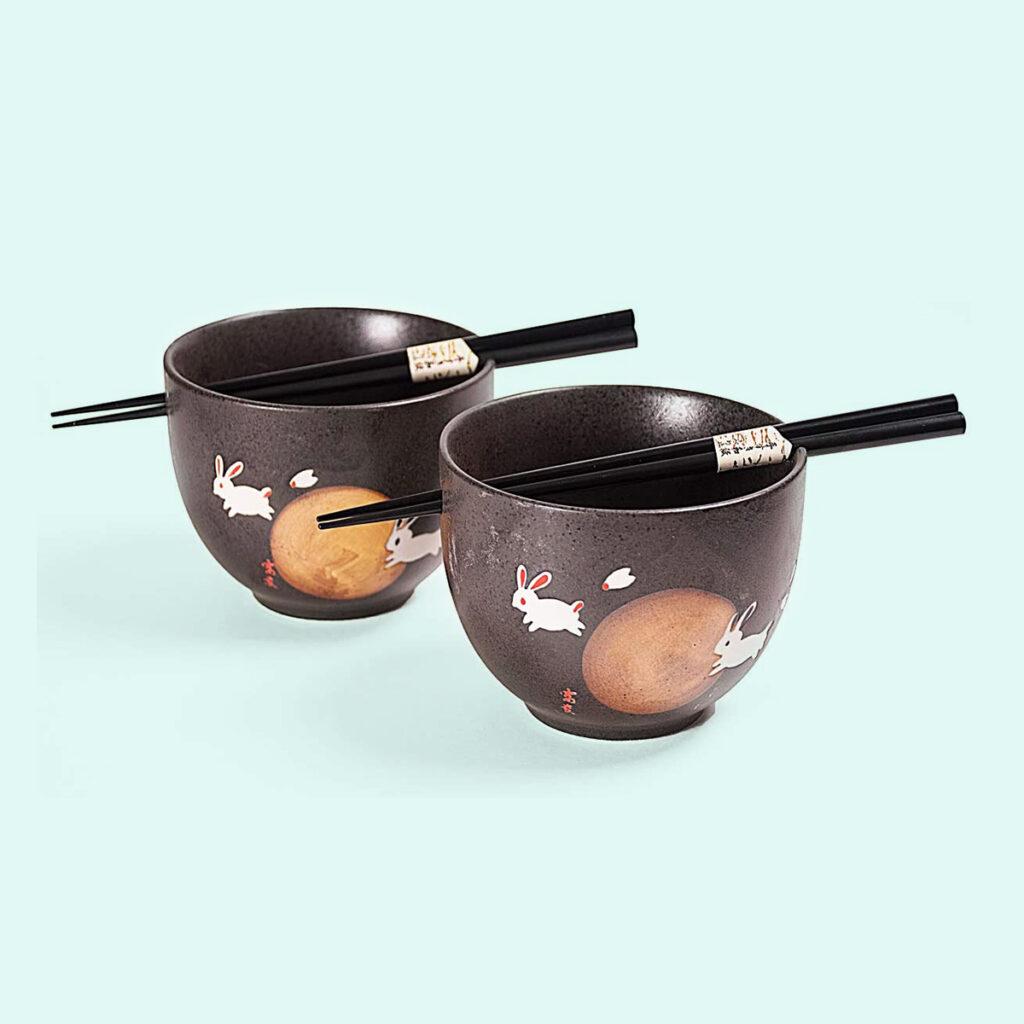bunny noodles set